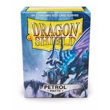 Dragon Shield 100ct Standard Sleeves - Matte Petrol