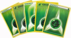 20 Random Grass Energy Cards