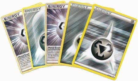 20 Random Metal Energy Cards