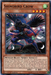 Shinobird Crow - RATE-EN022 - Common - 1st Edition