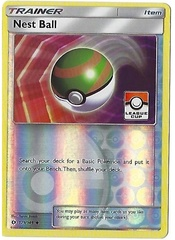 Nest Ball - 123/149 - Sun & Moon - Pokemon League Promo