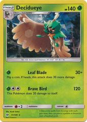 Decidueye - 11/149 - Cracked Ice Holo Forest Shadow Theme Deck exclusive