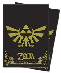 Ultra Pro The Legend of Zelda 65ct Standard Sleeves - Black & Gold (Skyward Sword)