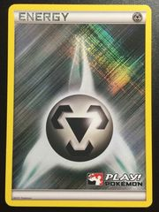 Metal Energy - 2011 Crosshatch Holo Play! Pokemon Promo