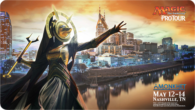 Pro Tour Amonkhet Nashville 2017 Ltd. Ed. Playmat