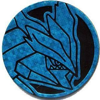 Black Kyurem Plastic Coin (Blue)