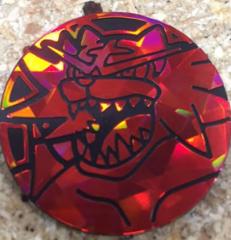 Incineroar Plastic Coin (Red)
