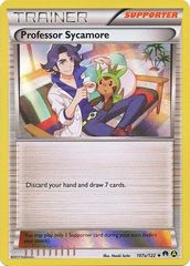 Professor Sycamore - 107a/122 - Alternate Art Holo Promo
