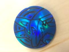 Lucario Plastic Coin (Blue)