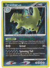 Tyranitar - 30/100 - Cosmos Holo - Dark Rampage Theme Deck Exclusive
