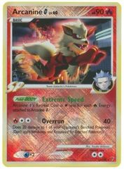 Arcanine [G] - 15/147 - Crosshatch Holo Pokemon League Cyrus Season 2009 Promo