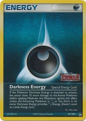 Darkness Energy - 87/108 - Rare Reverse Holo