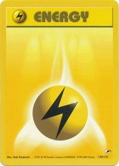 Lightning Energy - 130/132 - Common - Unlimited Edition