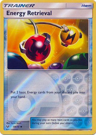 Energy Retrieval - 59/73 - Uncommon - Reverse Holo