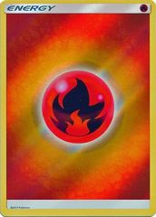 Fire Energy - 2017 - Reverse Holo