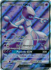 Mewtwo GX - 72/73 - Full Art Ultra Rare