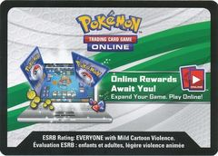 Sun & Moon Guardians Rising Pre-Release Box Unused Code Card