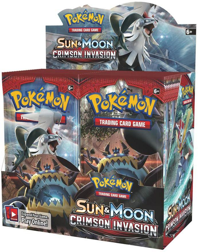 Pokemon Sun & Moon: Crimson Invasion Booster Box