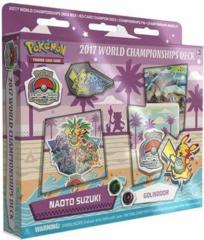 Pokémon 2017 World Championships Deck - Golisodor (Naoto Suzuki)