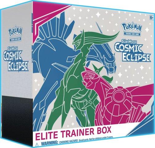 Sun & Moon - Cosmic Eclipse Elite Trainer Box