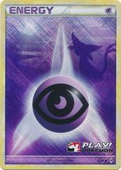 Psychic Energy - 92/95 - Promotional - Crosshatch Holo 2011 Player Rewards