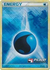 Water Energy - 90/95 - Promotional - Crosshatch Holo 2011 Player Rewards