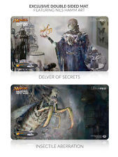 Grand Prix Seattle 2015 Ltd. Ed. Double-Sided Playmat (Delver of Secrets / Insectile Aberration)