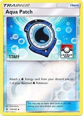 Aqua Patch - 119/145 - Staff League Promo