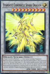 Stardust Chronicle Spark Dragon - CIBR-ENSE1 - Super Rare - Limited Edition