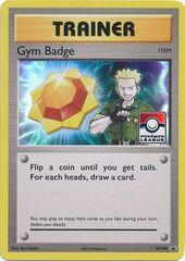 Gym Badge (Lt. Surge) - XY205 - 2017 Pokemon League Exclusive