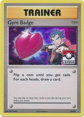 Gym Badge (Koga) - XY207 - 2017 Pokemon League Exclusive
