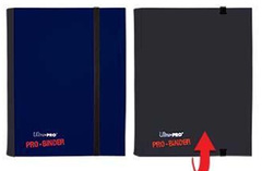 Ultra Pro 4-Pocket Pro-Binder - Black/Blue