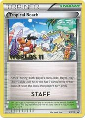 Tropical Beach (Staff) - BW28 - Promotional