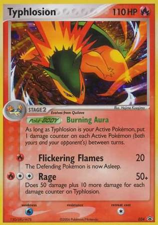 Typhlosion - 34 - Value Pack II/Epic Collection Value Boxes