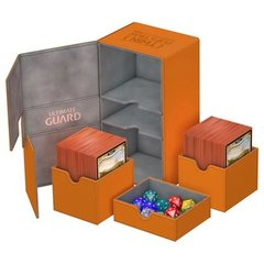 Ultimate Guard Twin Flip'n'Tray Deck Case 200+ - Orange
