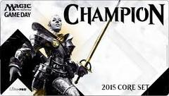 Magic 2015 Game Day Champion Ltd. Ed. Playmat