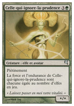 Celle-qui-ignore-la-prudence (Heedless One)