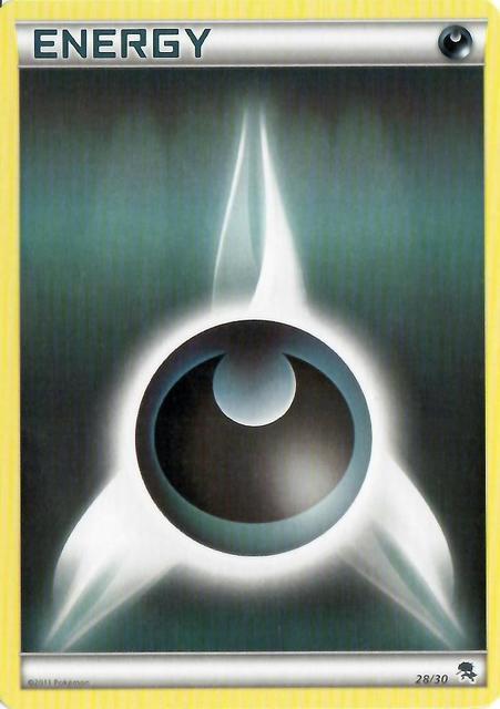 Darkness Energy - 28/30 - BW Trainer Kit (Zoroark)