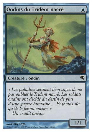 Ondins du Trident nacré (Merfolk of the Pearl Trident) #43/60