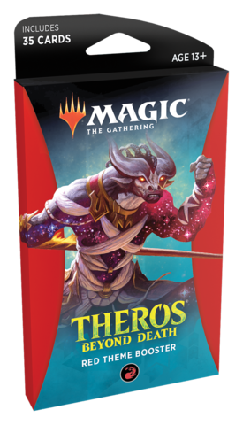 Theros Beyond Death Theme Booster - Red