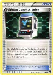 Pokemon Communication - 18/30 - BW Trainer Kit (Zoroark)