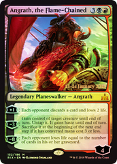 Angrath, the Flame-Chained - Foil - Prerelease Promo