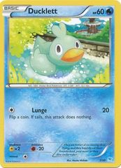 Ducklett - 7/30 - XY Trainer Kit: Pikachu Libre & Suicune (Suicune)