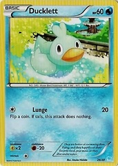 Ducklett - 24/30 - XY Trainer Kit: Pikachu Libre & Suicune (Suicune)