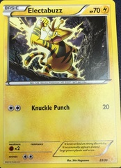 Electabuzz - 23/30 - XY Trainer Kit: Pikachu Libre & Suicune (Pikachu Libre)
