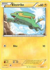 Electrike - 28/30 - XY Trainer Kit: Pikachu Libre & Suicune (Pikachu Libre)