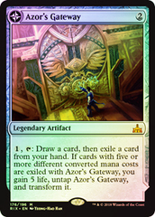 Azor's Gateway // Sanctum of the Sun - Foil - Prerelease Promo
