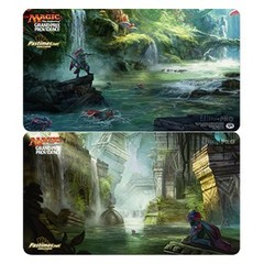 Grand Prix Providence 2017 Ltd. Ed. Double-Sided Playmat (Search for Azcanta // Azcanta, The Sunken Ruin)