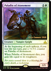 Paladin of Atonement - Foil - Prerelease Promo