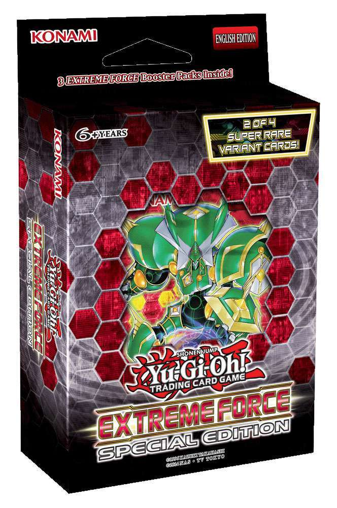 Extreme Force Special Edition Pack - Yu-Gi-Oh » Yu-Gi-Oh! Sealed